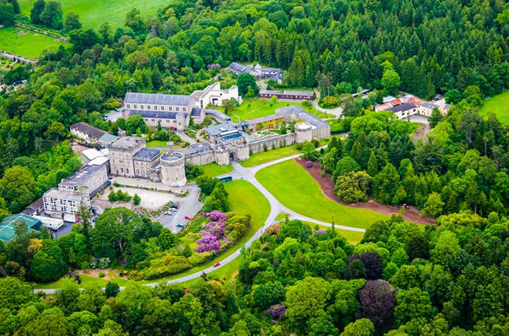 Aerial View Glenstal Abbey Grounds | nyjung.org